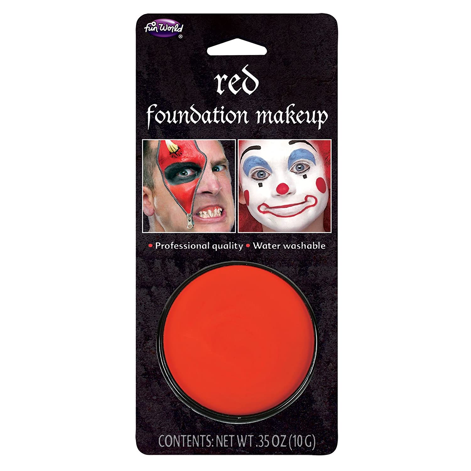 Black Makeup–10gm Pack Halloween Face Paint Wicked 5651K