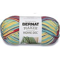 Bernat Maker Home Dec Yarn - (5) Bulky Chunky Gauge - 8.8 oz - Fiesta Variegate - For Crochet, Knitting & Crafting