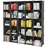 "KOUSI Portable Storage Cubes-14"" x14""(Load-Bearing Metal Panel) Modular Bookshelf Units,Clothes Storage Shelves,Room Organize"