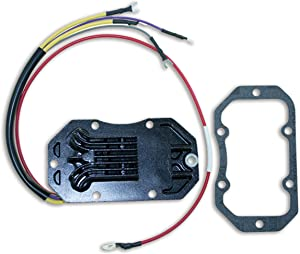 CDI Electronics 193-5204 Johnson/Evinrude Voltage Regulator - 4/6 Cyl. 35 Amp (1984-1992)