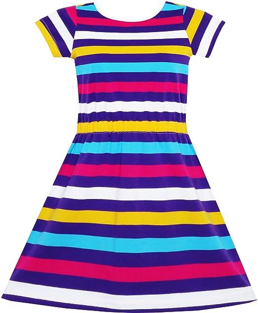 Kleid madchen bunt