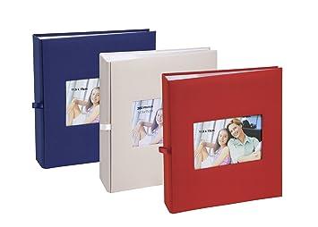 Lot de 3 albums photos Erica Square à pochettes 11.5x15 pour 200 photos -  bleu 78356e46a5f0