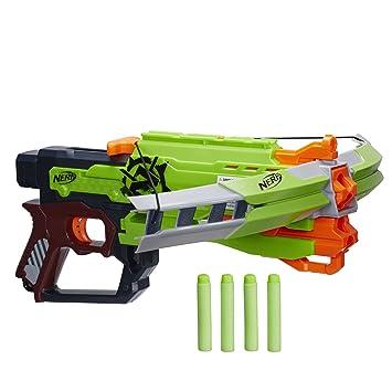 esJuguetes A6558eu42 Nerf Zombie BallestaAmazon Juegos Y PkXZui