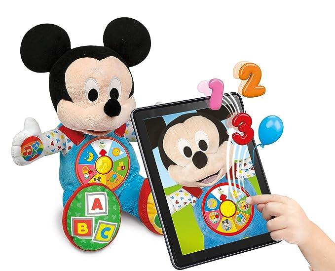Clementoni - 52192 - Mickey - Mon compagnon interactiva: Amazon.es: Juguetes y juegos