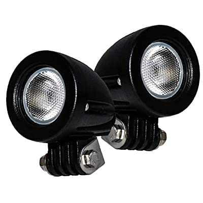OZ-USA Flood Mini Trail Lights Led Spot Motorcycle Offroad Dual Sport En.: Automotive
