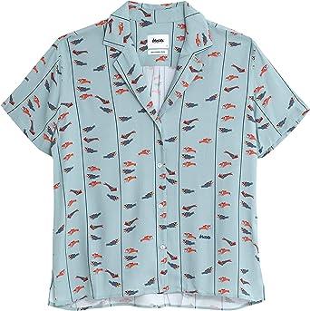 Brava Fabrics Blusa Aloha Koinobori Kite - Viscosa Ecovero ...