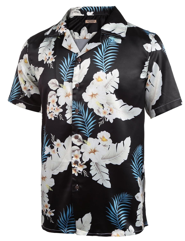 Amazon.com: Hotouch - Camisa hawaiana de Aloha para hombre ...