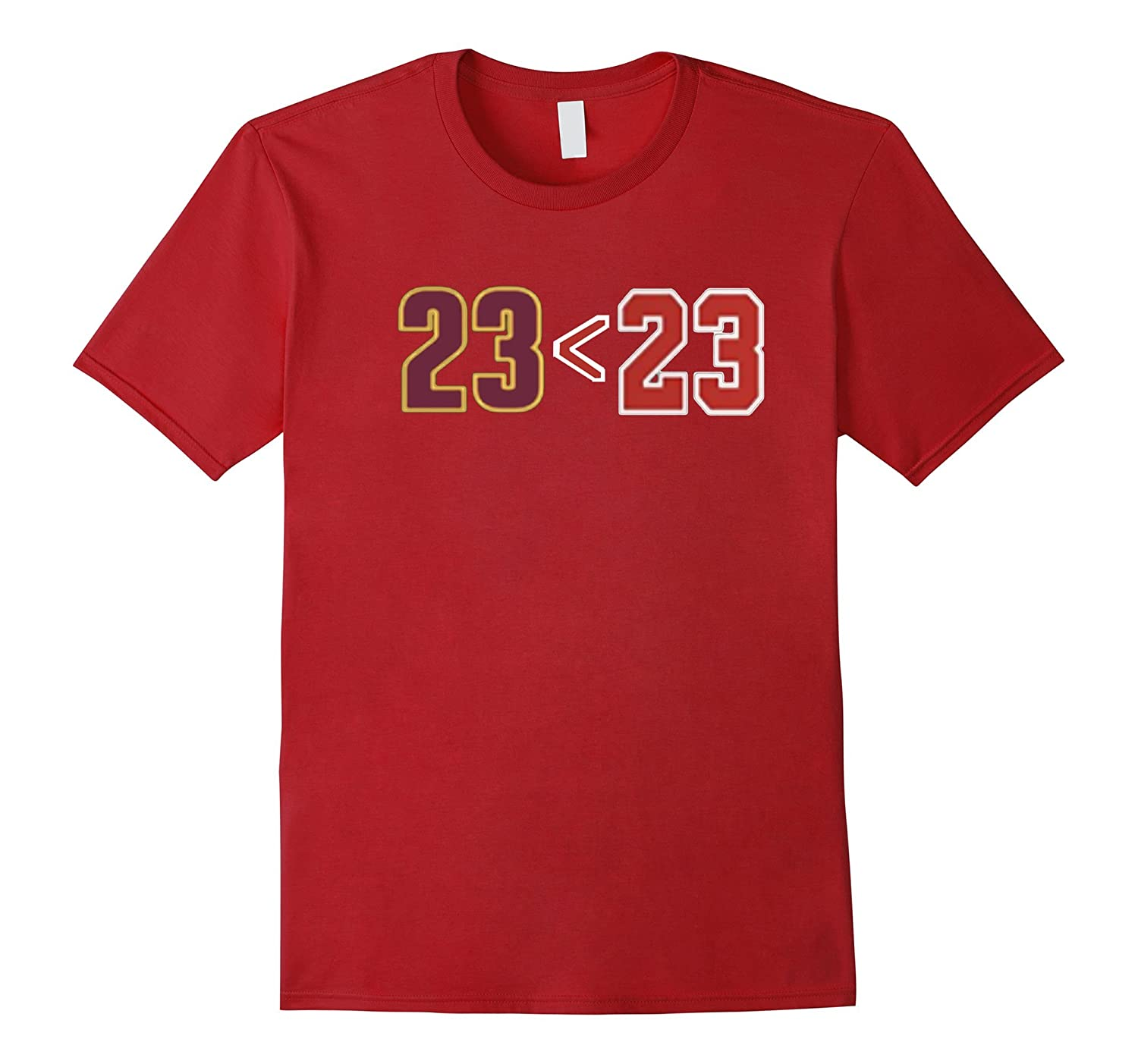 23 is Less Than 23 - Funny Basketball T Shirt-PL