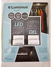 Luminus Automatic LED Drawer and Cabinet Lights