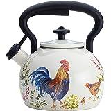 Paula Deen 46255 Signature Teakettle, 2 Quart, Garden Rooster