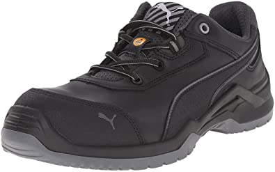 Mens Puma Argon Low Black Safety Shoes Z39943