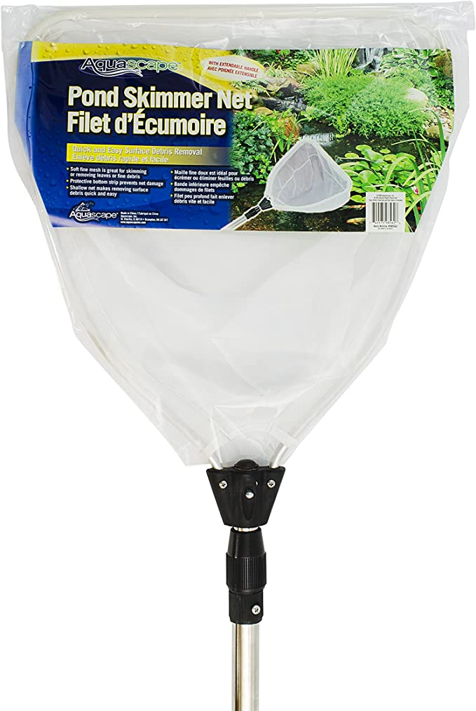Aquascape 98562 Heavy Duty Pond Skimmer Net with Extendable Handle
