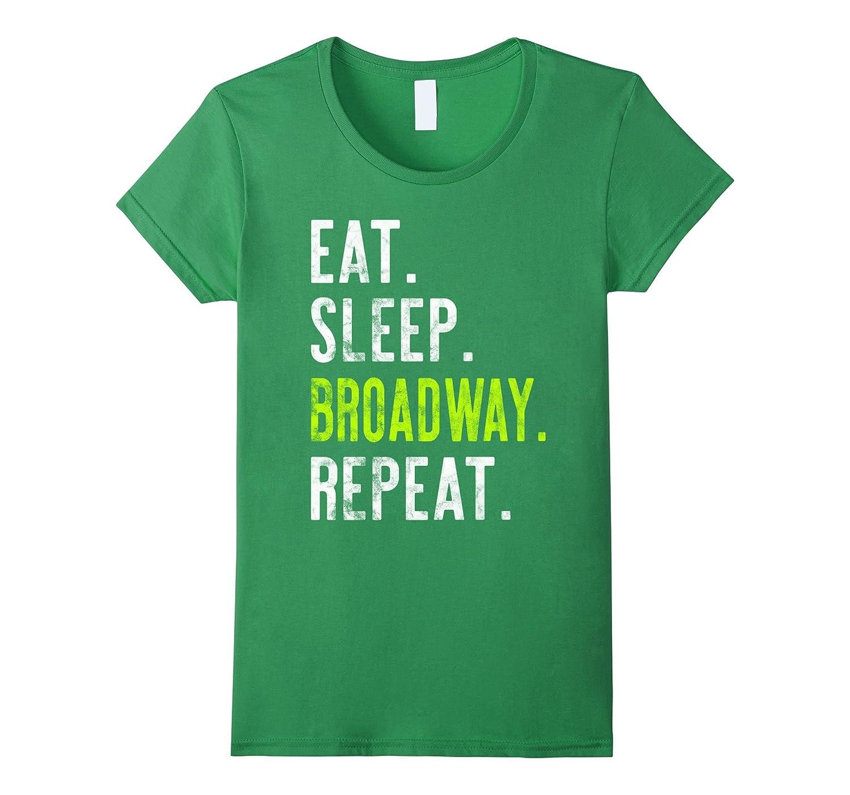 Womens Eat Broadway Repeat Distressed-Awarplus