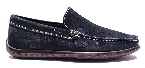 Frau Fx 14E4 Azul Zapatos Hombres Mocasines Luz de Gamuza: Amazon.es: Zapatos y complementos