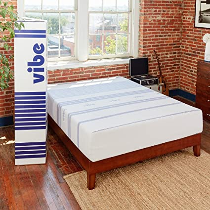 Amazon.com: Classic Brands Vibe 12-Inch Gel Memory Foam Mattress ...
