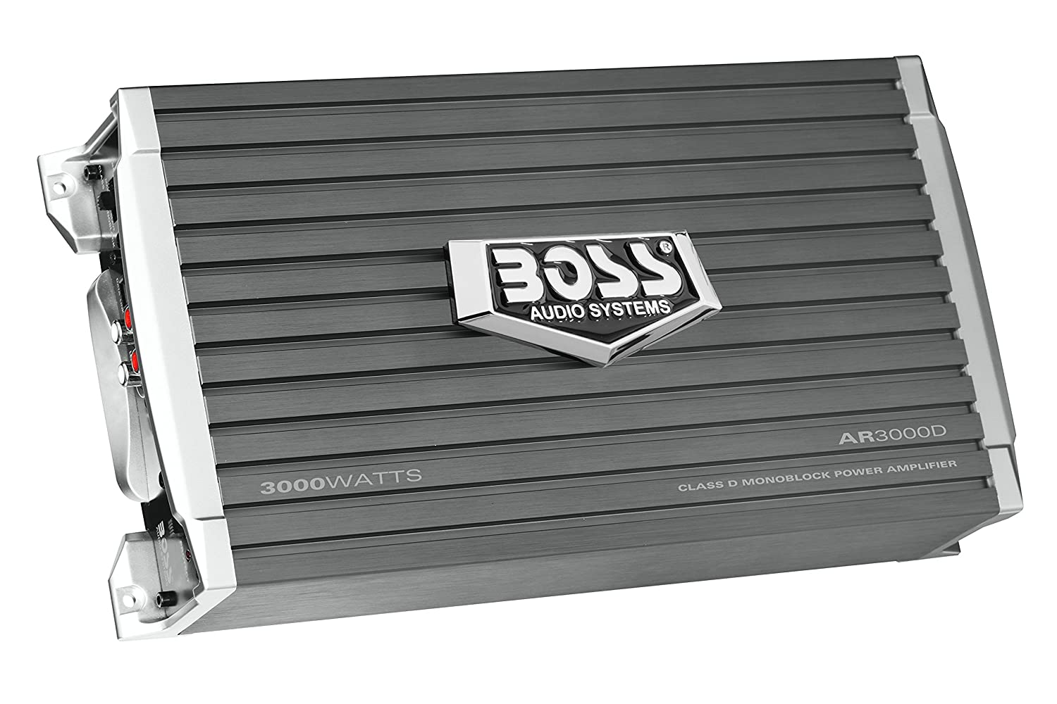 Boss Audio Ar3000d Car Amplifier 3000 Watts 1 2 4 Ohm Gauge High Quality Lifier Power Wire Wiring Stable Class D Monoblock Remote Subwoofer Control Electronics