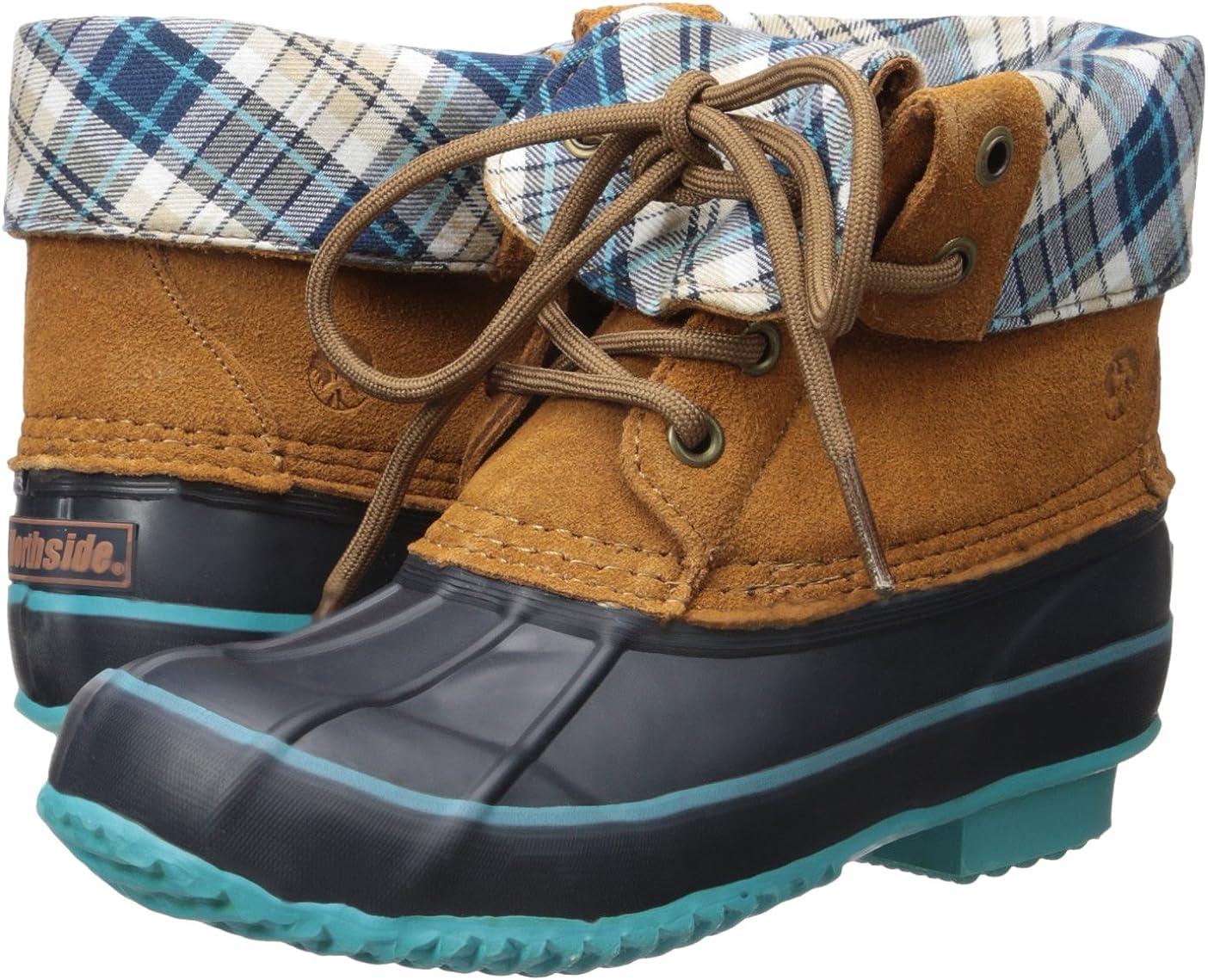 Northside Carrington Girls Waterproof Lace-up Duck Boot