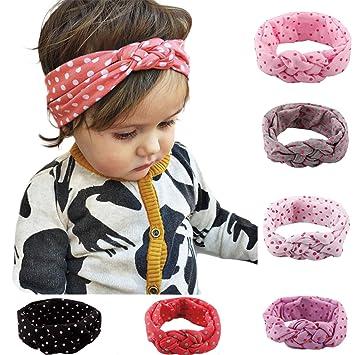 Nue Nett Baby Mädchen Kopftuch Bogen Haarband Stirnband Kopfband Haarschmuck