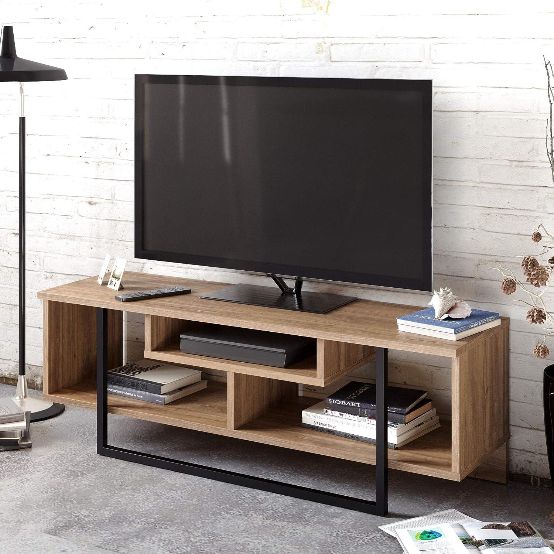 Decorotika Asal Modern - Mueble de TV para televisores de hasta 55 Pulgadas (120 cm): Amazon.es: Hogar