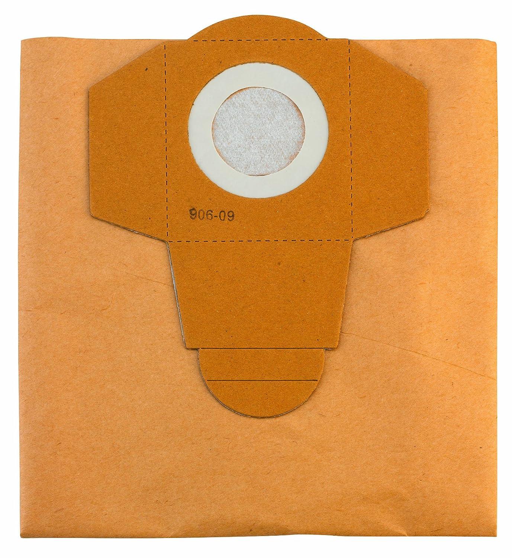 Acquisto Einhell 2351150 Sacchetti per Aspiratutto in Carta, 5 Pezzi, 25 L, Beige Prezzo offerta