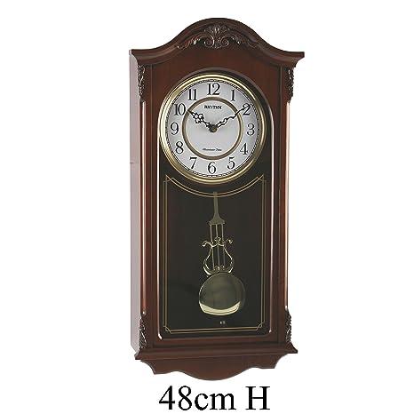 Reloj Deluxe de Pared de madera a Péndulo – Tañido Westminster