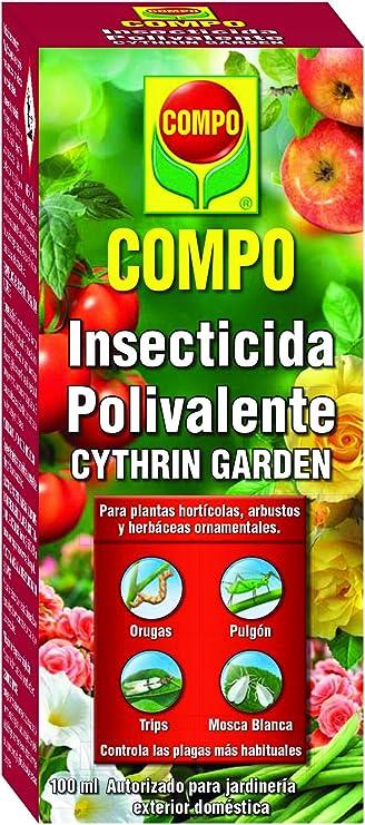Compo Cythrin Garden Insecticida Polivalente, para Plantas ...