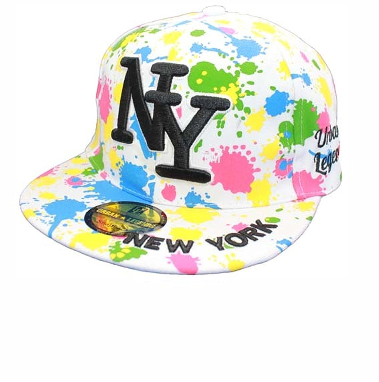 Urban Legend-NY New York-Gorra ajustable con visera plana, diseño ...
