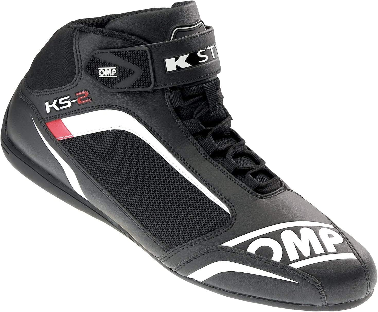 red black OMP KS-2/ Shoes Talla 45 white
