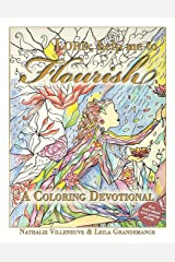 Lord, Help Me to Flourish: A Coloring Devotional Paperback
