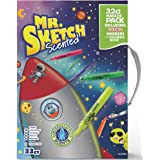 Mr. Sketch 2022889  Scented Markers Intergalactic Neon Coloring Kit with Coloring Booklet, 33 Count