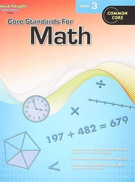 Core Standards for Math: Reproducible Grade 3: Steck-Vaughn
