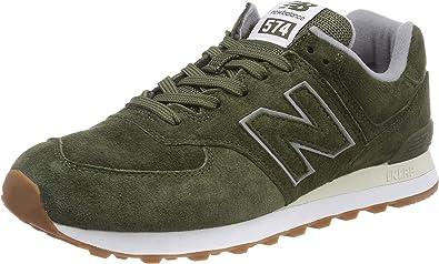new balance hombre 574 verde