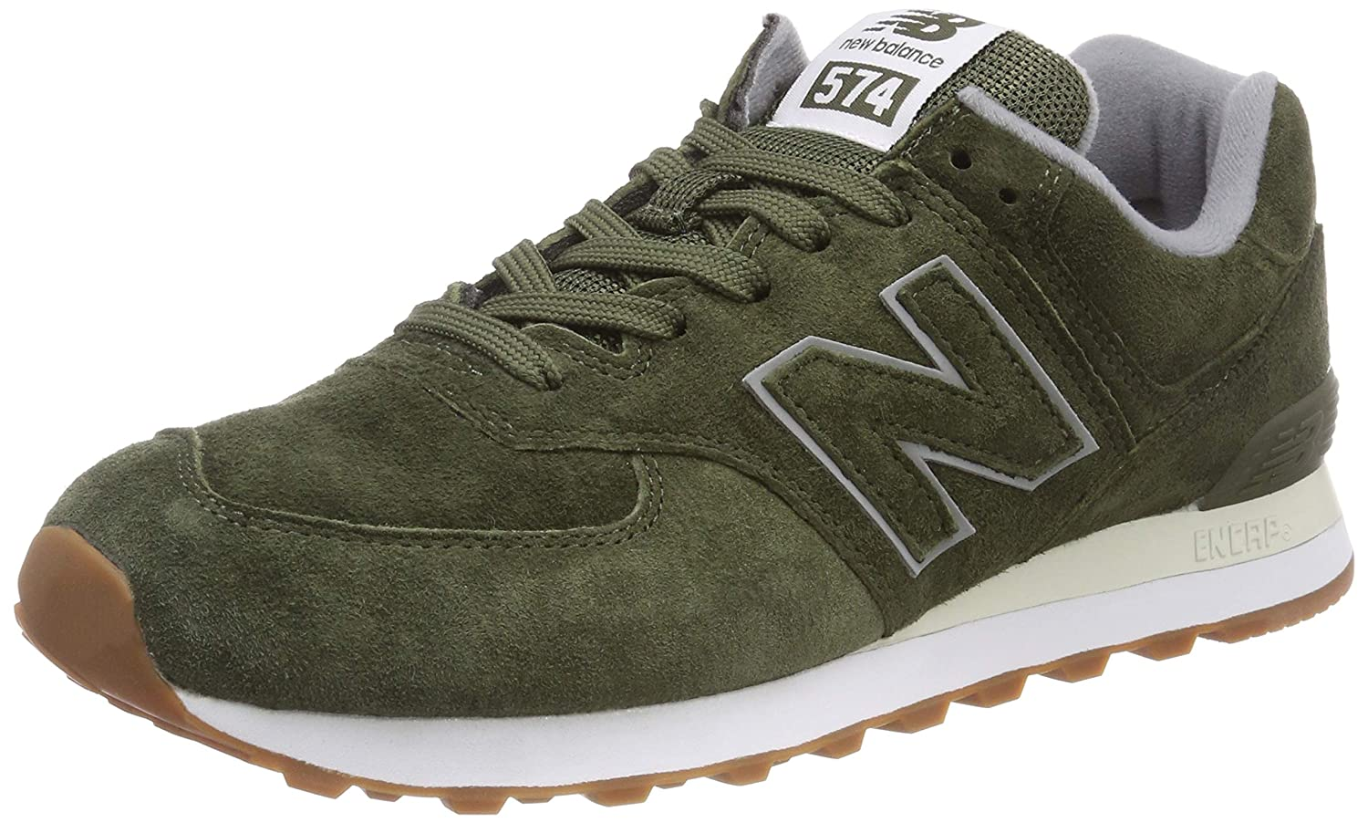 New Herren Balance Herren New Ml574E Sneaker, Grün (Dark Covert Grün/Dark Covert Grün Epb) f173cc