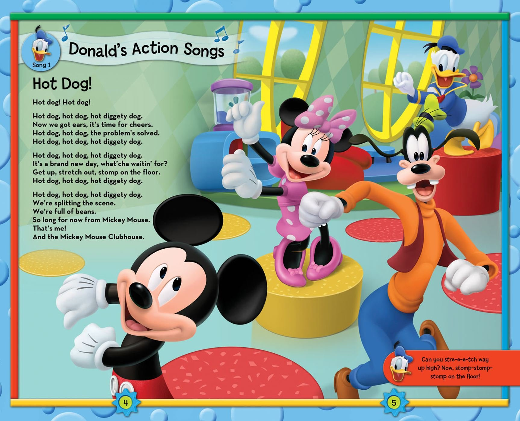 Amazon Disney Mickey Mouse Clubhouse Take Along Tunes Book