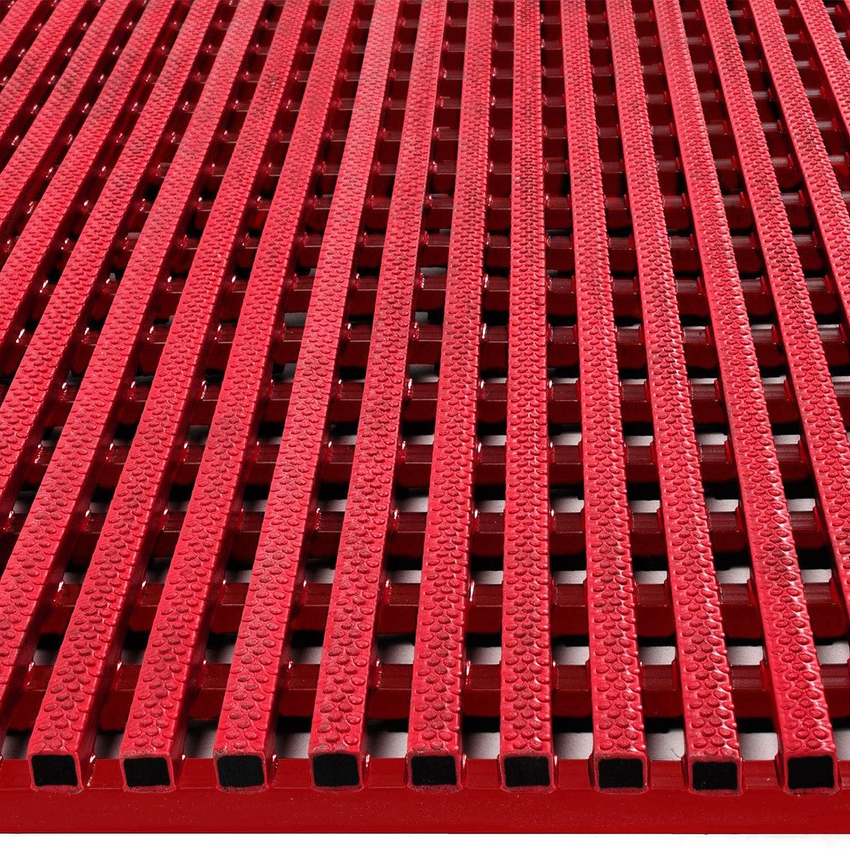 viele Gr/ö/ßen drei Farben rot, 120x100cm Antirutschmatte Aqua-Grip f/ür Nassbereiche wie Schwimmb/äder und Duschen antimikrobiell