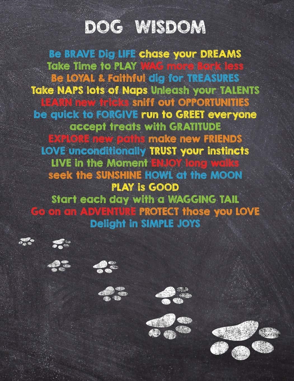 Dog Wisdom 2019 Dog Wisdom Quote Planner Inspirational Dog Quotes