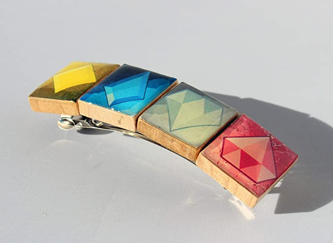 492d477e2 Amazon.com: Diamond Authority Scrabble Tile Hair Barrette - Steven Universe  Inspired: Handmade