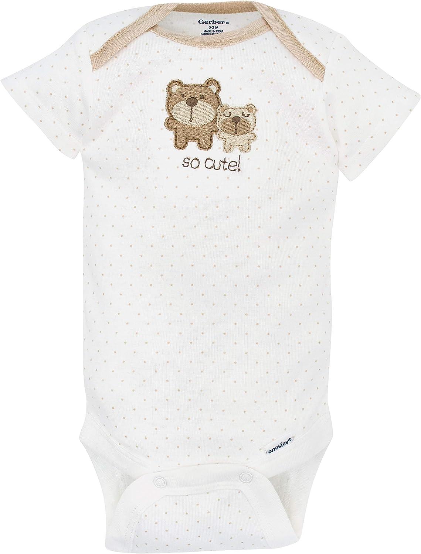 Gerber Unisex-Baby Newborn Bear 9 Piece Playwear Bundle Bear