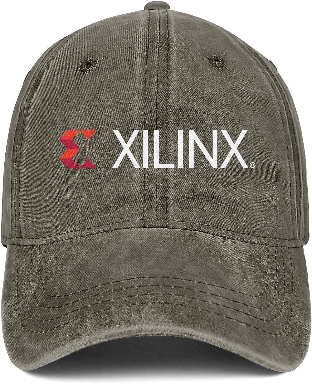 YSPO9O8 Mens Womens Caps Xilinx Logo Hat Snapback Fitted Denim Cap Printing Hats