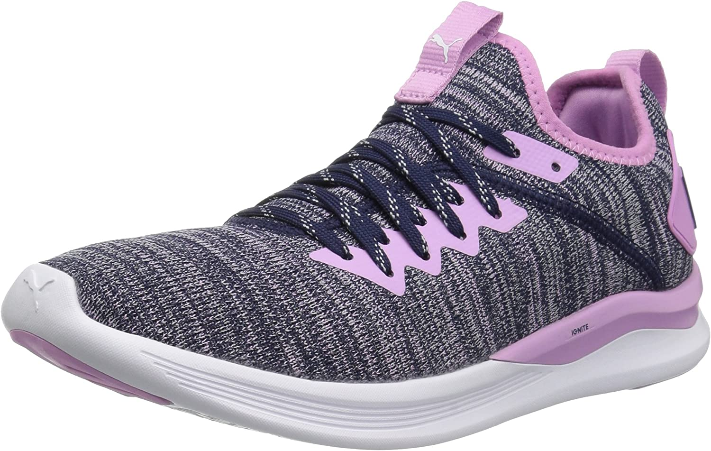 PUMA unisex-kids  Ignite Flash Evoknit Kids Sneaker,