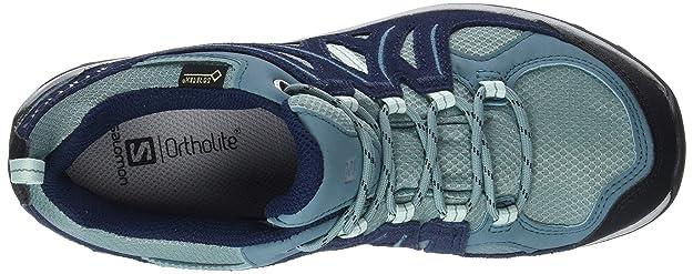 Salomon Ellipse 2 GTX W, Zapatillas de Senderismo para Mujer: Amazon.es: Zapatos y complementos