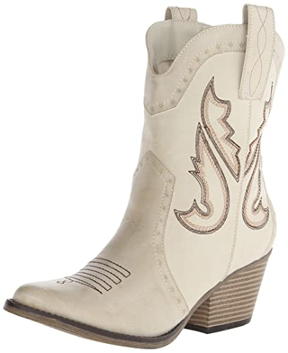 MIA Women's Horseback Western Boot, Chalk, ...