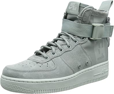air force 1 mid 7 gris