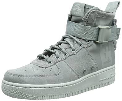 finest selection 1781f 349a7 Nike Men s Air Force 1 MID Light Grey AA3966-006 (Size  ...
