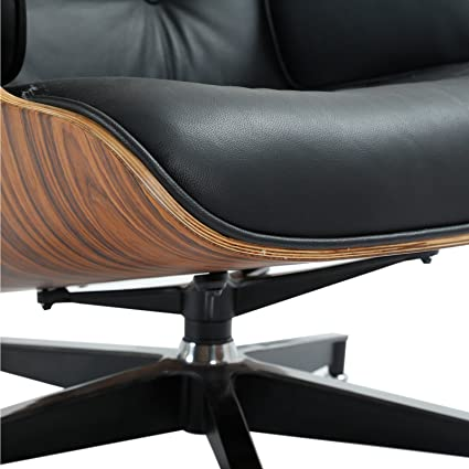 Silla de Oficina Eames de 1 Pulgada y sillón otomano réplica ...
