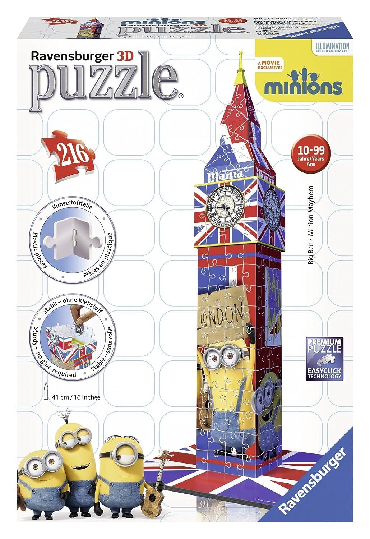 Ravensburger Puzzle D diseño Big Ben Minions