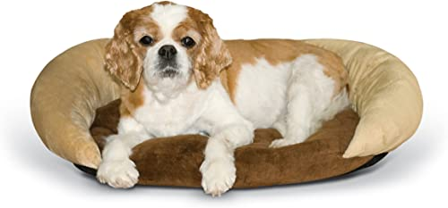 K H Pet Products Self-Warming Bolster Bed Pet Bed