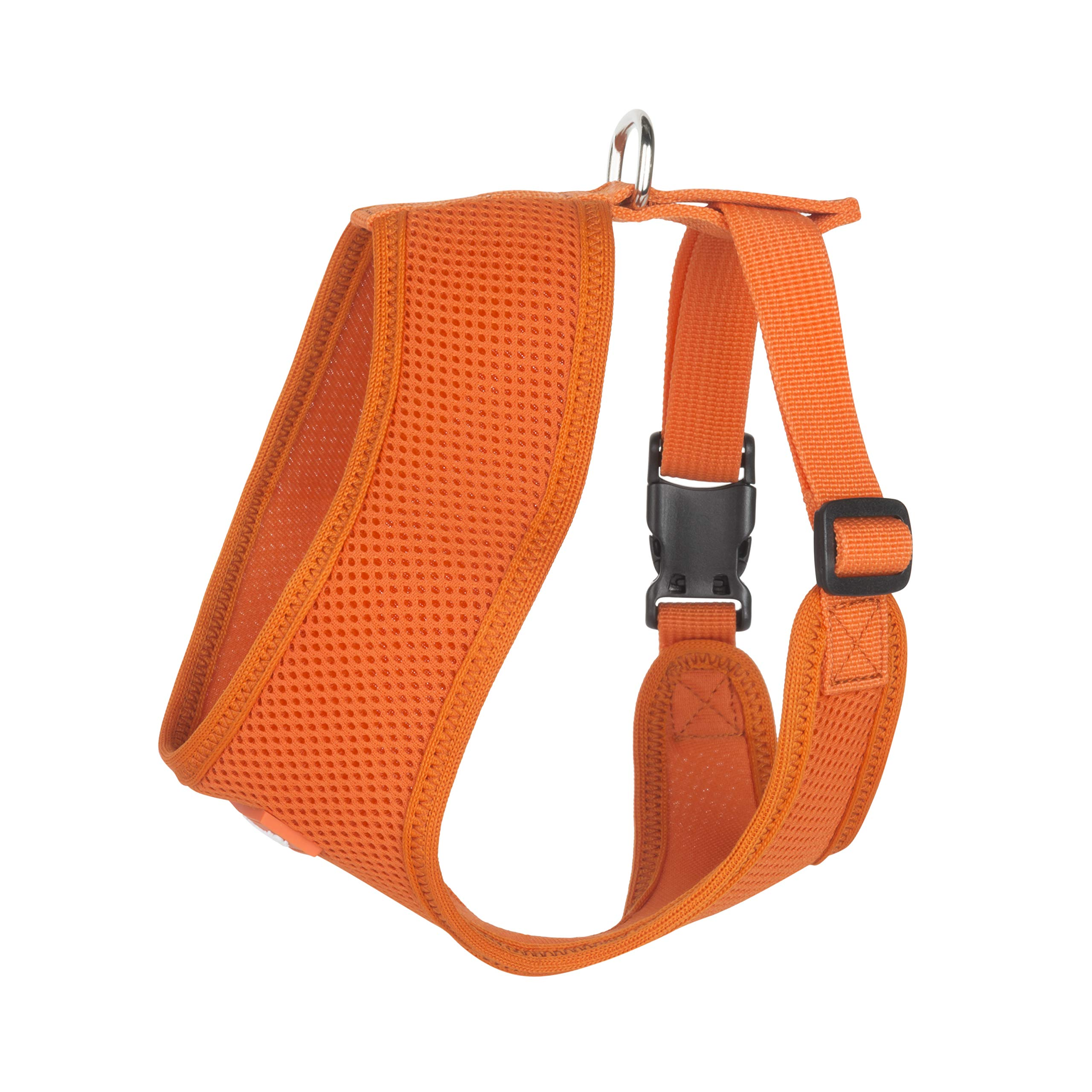 Hip Doggie Ultra Comfort Orange Mesh Harness Vest, XX-Large