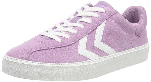 hummel Diamant Suede, Zapatillas para Mujer, Morado (Lavender Mist), 40 EU: Amazon.es: Zapatos y complementos