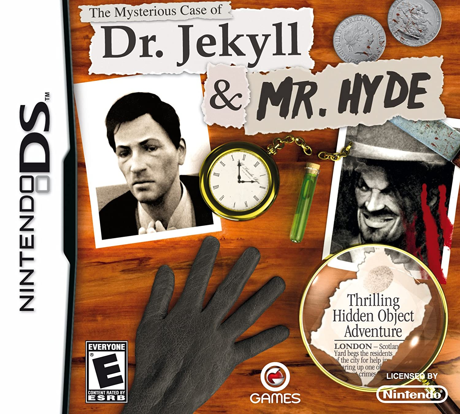 Amazon Com The Mysterious Case Of Dr Jekyll Mr Hyde Nintendo Ds Video Games